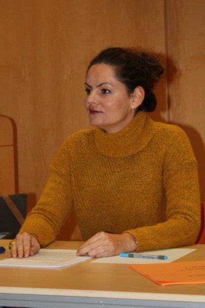 Workshopleiterin Elisabeth Hahn