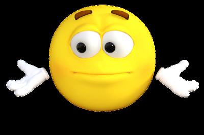 Emoticon fragend