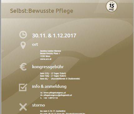Pflegekongress 2017 in Wien